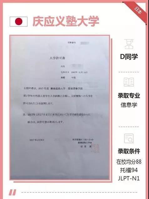 语言学校跳板进入名校庆应义塾大学