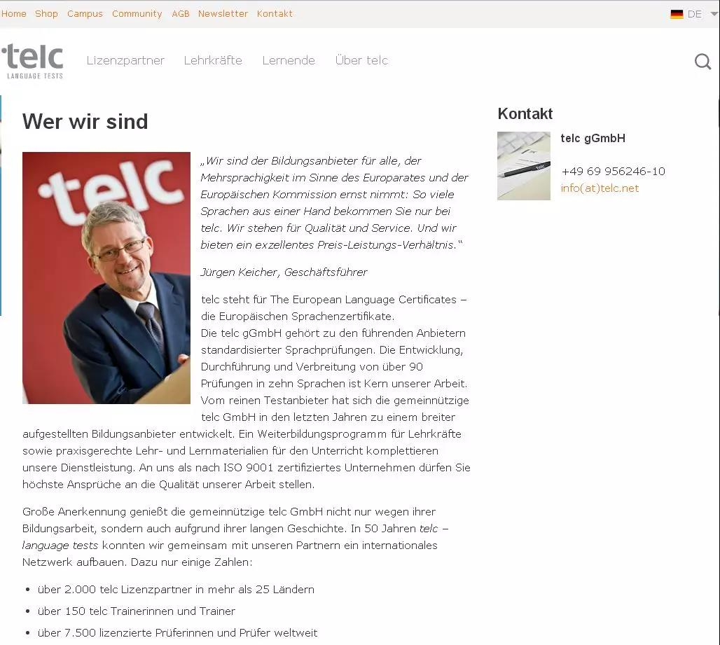 Telc C1  Hochschule高校德语考试