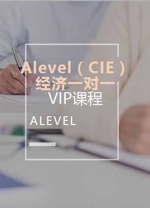 Alevel(CIE)-经济一对一
