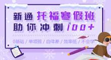 新通托福寒假班