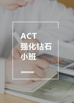 ACT强化钻石小班