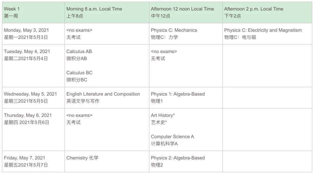 重磅!大陆AP考试学校考生报名开启2