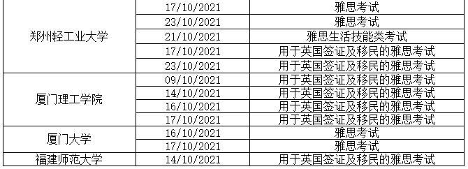 10月12日更新丨10月这些场次雅思考试确认取消!附部分考点雅思考试入场要求2