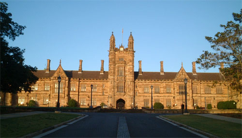 Path to University of Sydney