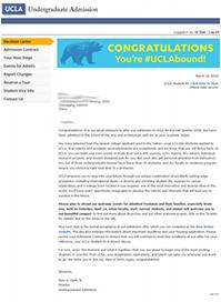看艺术小王子如何突破自我成功申请UCLA